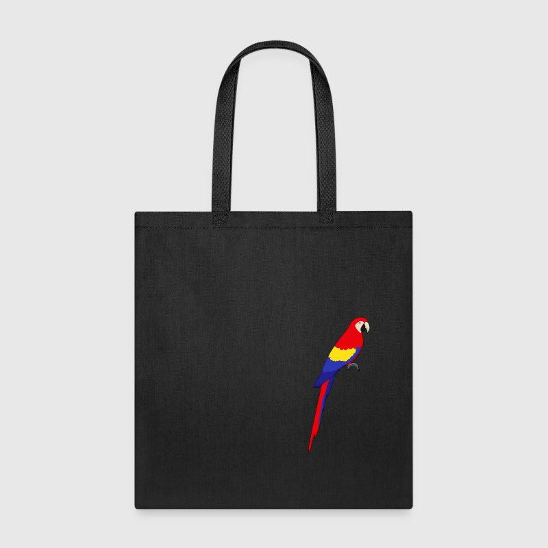 red parrot - Tote Bag