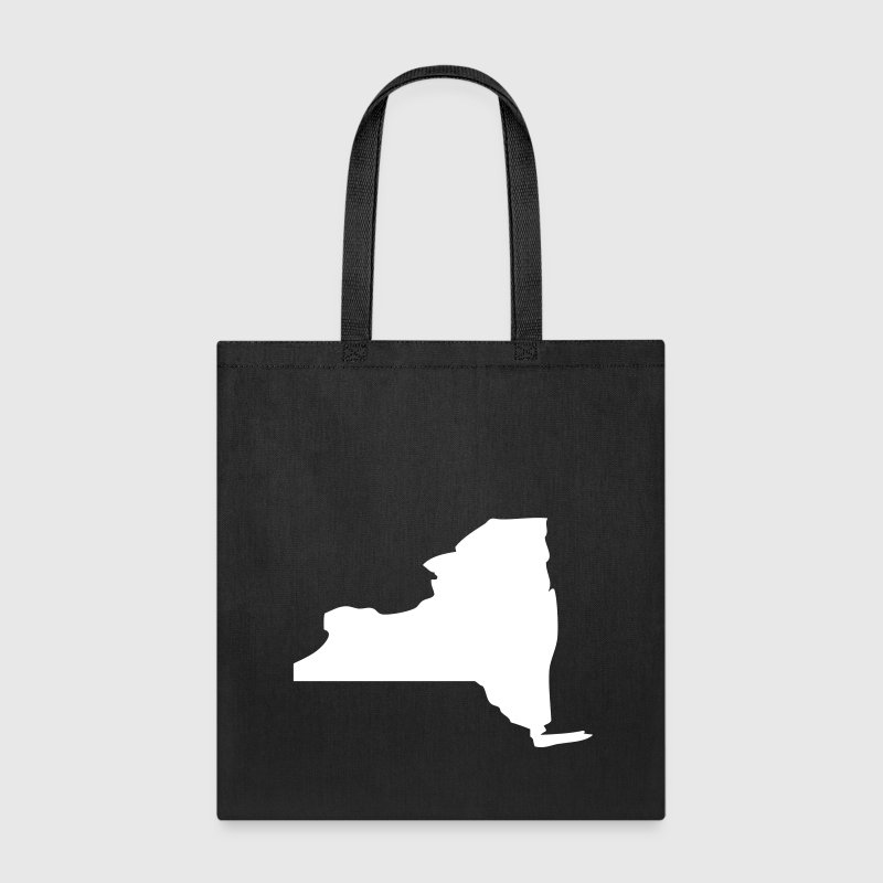 New York State Silhouette - Tote Bag