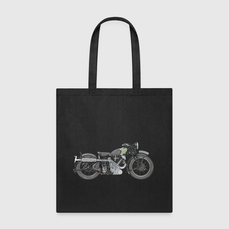 1935 Panther Motorcycle color.png - Tote Bag