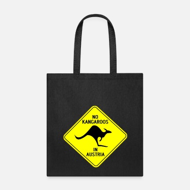 Austria NO KANGAROOS IN AUSTRIA - Tote Bag