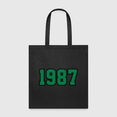 1987 | Year of Birth | Birth Year | Birthday - Tote Bag