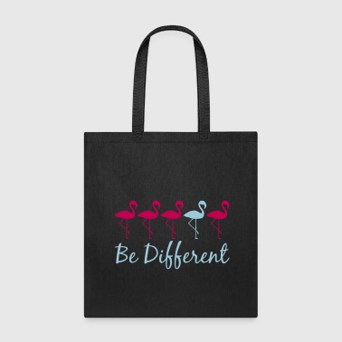 text difference be different many team pattern row - Tote Bag