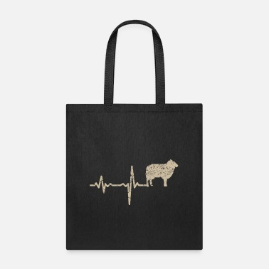 Udder gift heartbeat sheep - Tote Bag