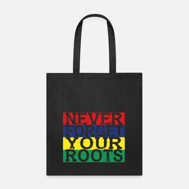 Mauritius never forget roots home Mauritius - Tote Bag