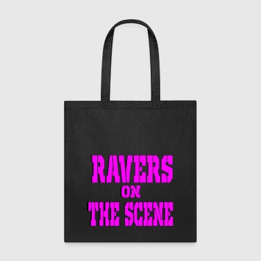 Scene ravers on the scene - Tote Bag