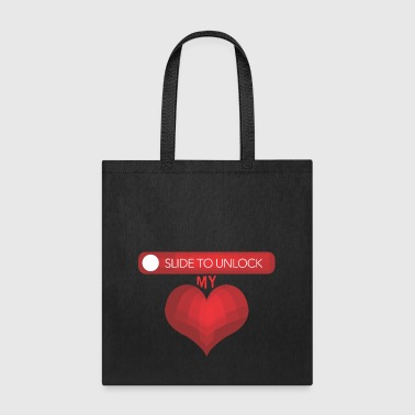 Cuore GIFT - SLIDE TO UNLOCK - Tote Bag