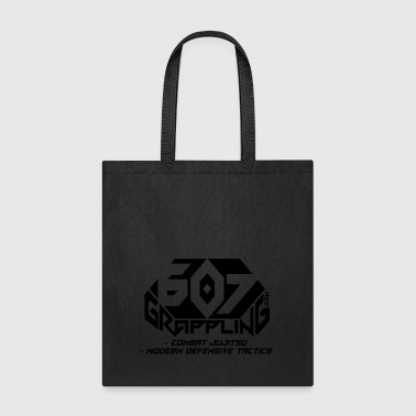 607 Grappling Black Logo - Tote Bag