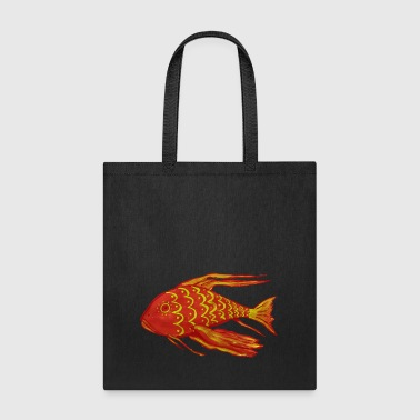 Aquarium Red Fish - Tote Bag