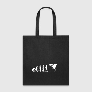 EVOLUTION breakdance bboy breakin - Tote Bag
