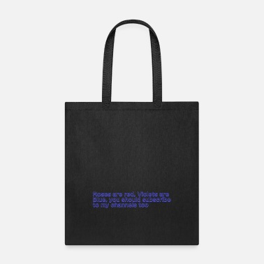 Poem Poem Text - Tote Bag