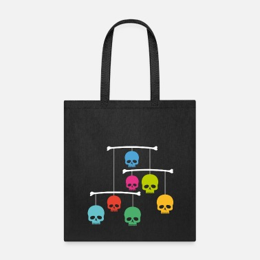 Mobile Mobile with Skulls - Tote Bag