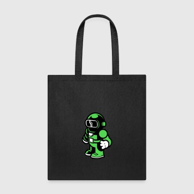 The Modern Spaceman - Tote Bag