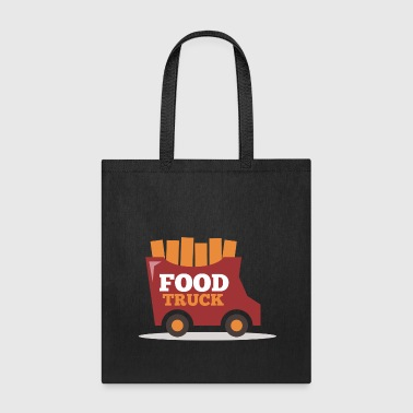 Food Truck Stick - Tote Bag
