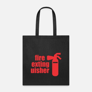 Fire Extinguisher fire extinguisher - Tote Bag