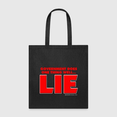 Government Government Lies - Tote Bag
