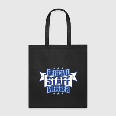 emblem star employee banner stamp sticker official - Tote Bag