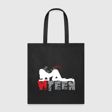 Black_Sweet Sixteen - Tote Bag