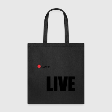 Record Champion Live record - Tote Bag