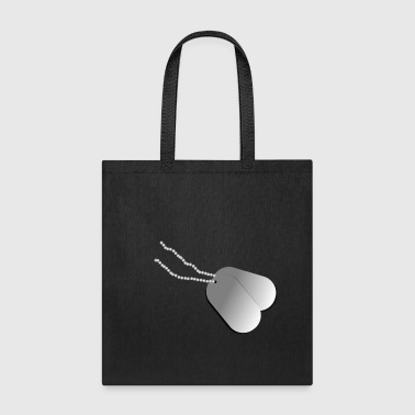 Army Baby Army tags - Tote Bag