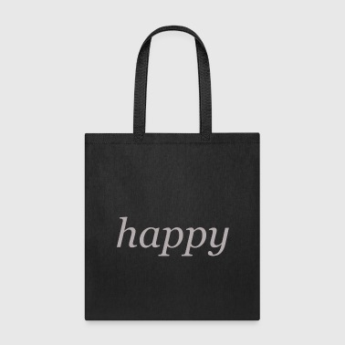 Happy - Tote Bag