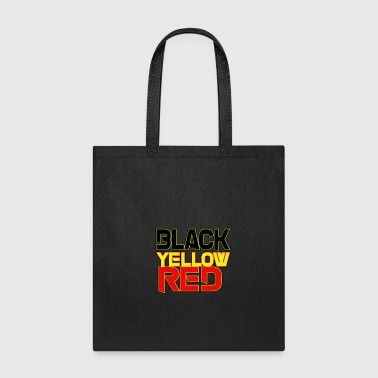 black yellow red - Tote Bag
