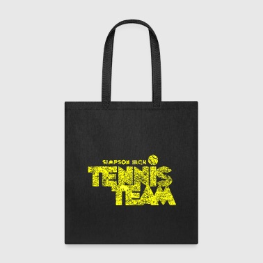 Simpsons Simpson High Tennis Team - Tote Bag