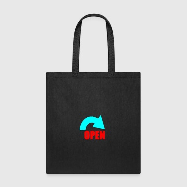 open - Tote Bag