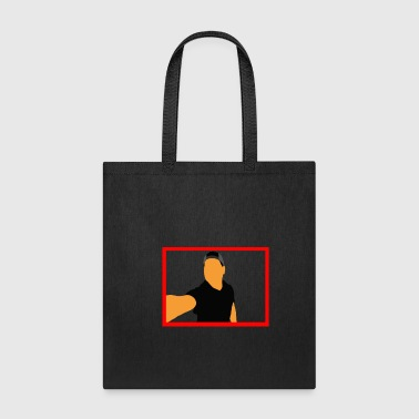 Red Frame - Tote Bag