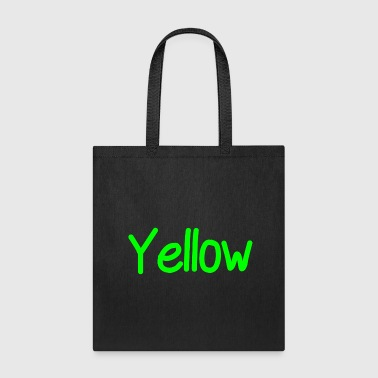 yellow - Tote Bag