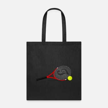 Tennis rackets with ball - Tote Bag