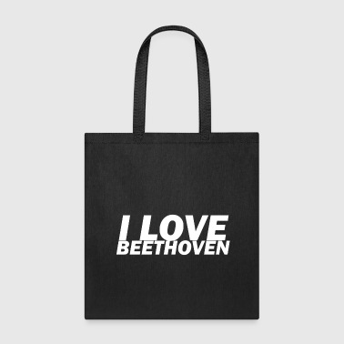 I Love Ludwig van Beethoven T-Shirt - Tote Bag