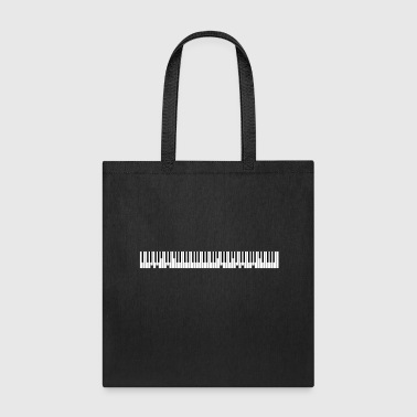 Grand Piano Custom Text - Tote Bag