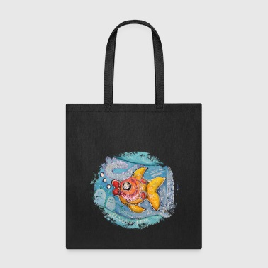 Fish colorful deep sea ocean - Tote Bag
