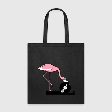music party celebrate disco club hang up mixer vin - Tote Bag