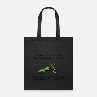 Ninety Ninety-Ninety Rule of Code - Tote Bag