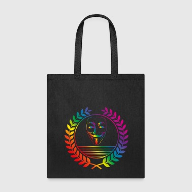 anonymus rainbow - Tote Bag