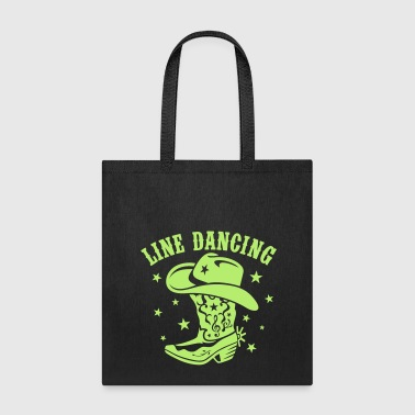LINE DANCE  - Tote Bag