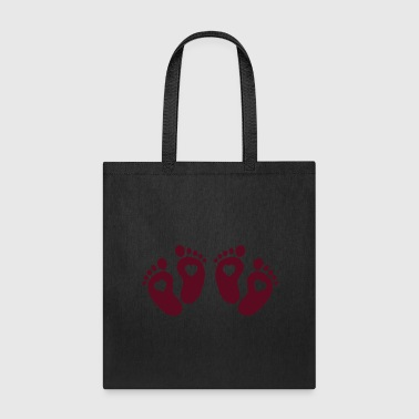 Feet Twin Feet - Tote Bag
