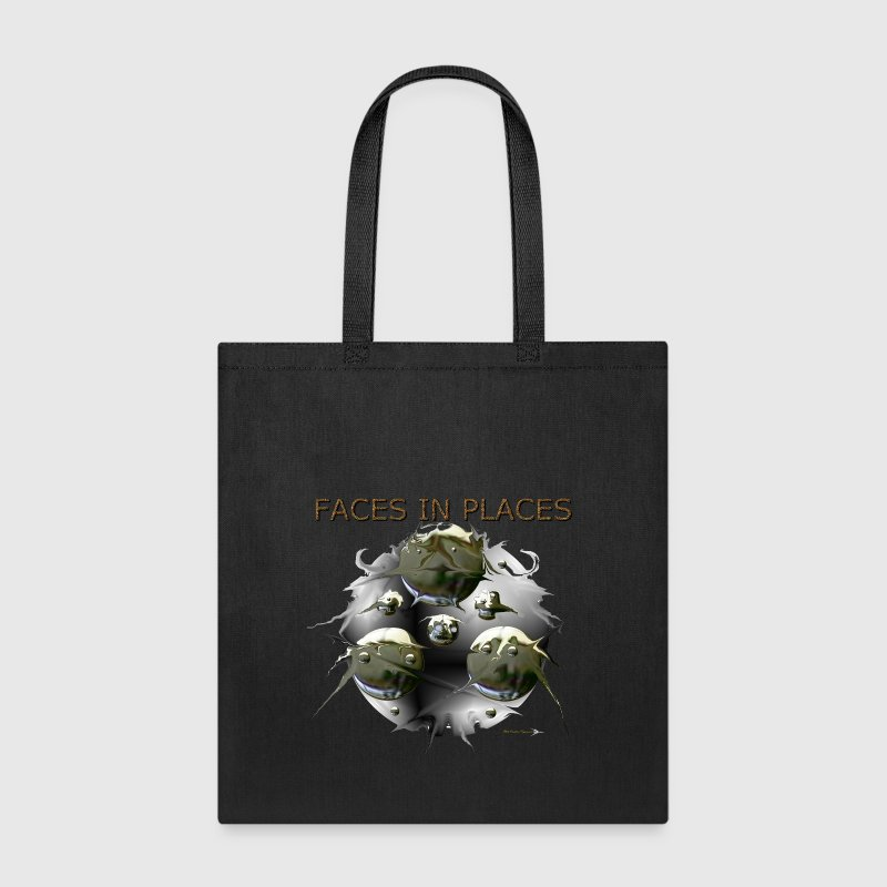 FACES IN PLACES - Tote Bag