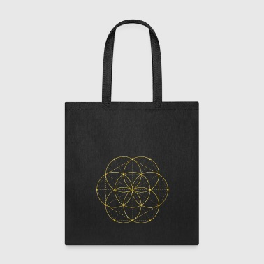 Geometry Golden Egg Of Life Sacred Geometry - Tote Bag