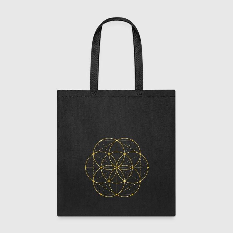 Golden Egg Of Life Sacred Geometry - Tote Bag