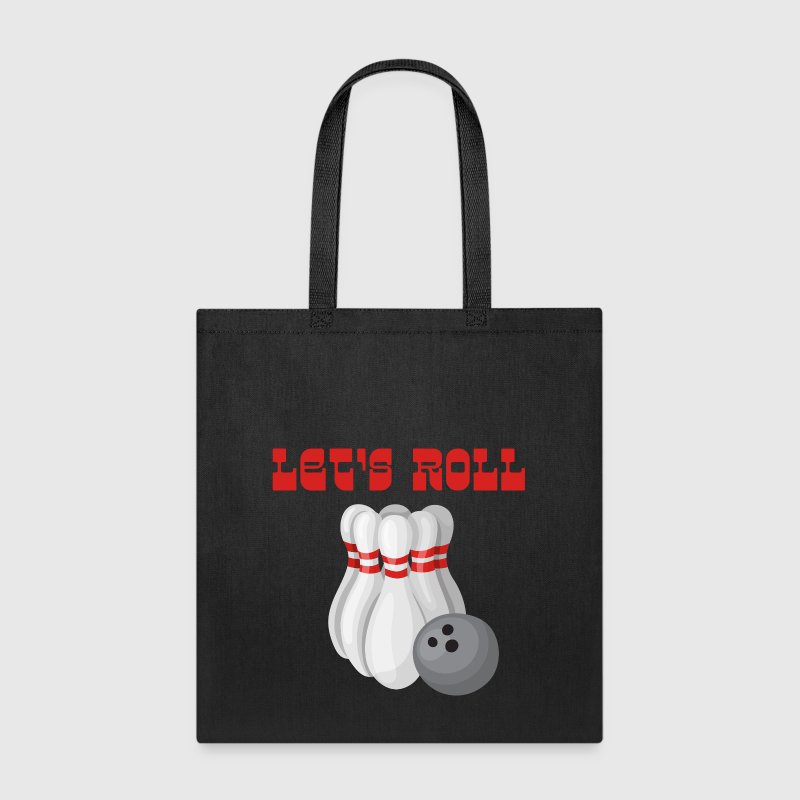 Let's Roll Bowling - Tote Bag