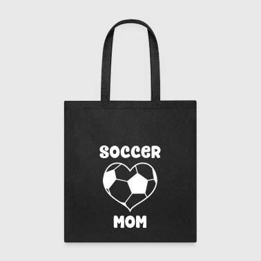 Heart Soccer Mom - Tote Bag
