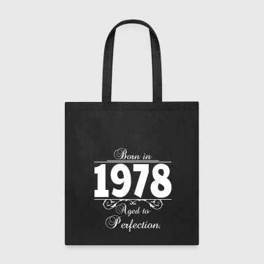 Born-in-Age 1978 - Tote Bag