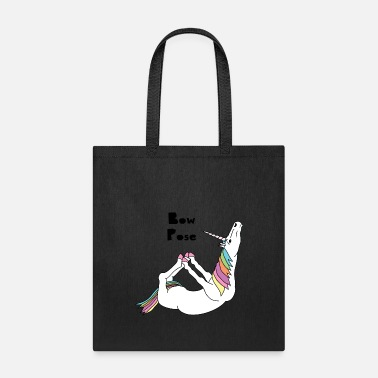 Unicorn Yoga Unicorn Bow Pose - Tote Bag