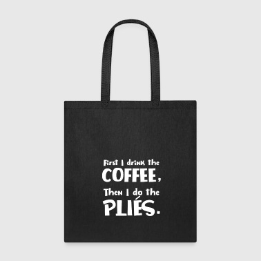 Funny Dance Teacher Coffee Lover for dark square - Tote Bag