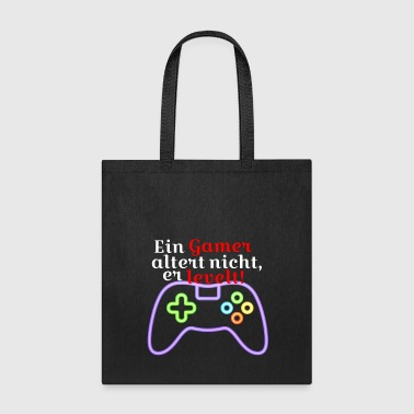 Lanparty A gamer does not age, he level - Tote Bag