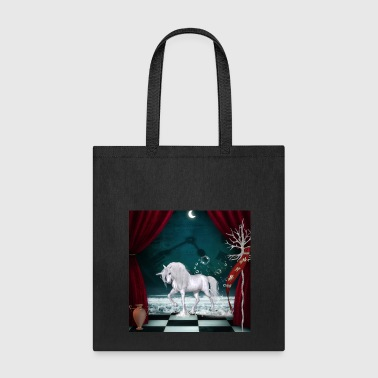 Mythology Wonderful unicorn with flag - Tote Bag