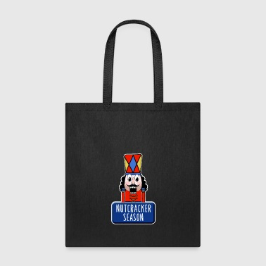 Stage Funny Ballet Nutcracker Season square - Tote Bag
