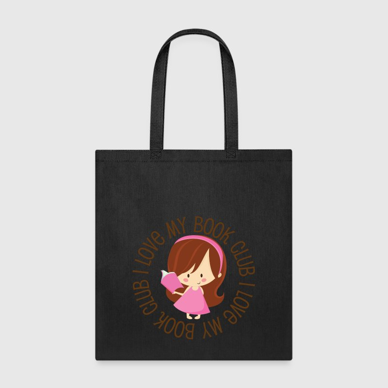 I Love My Book Club - Tote Bag